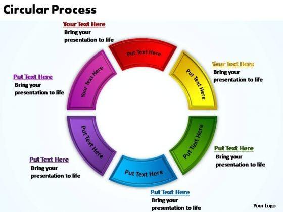 PowerPoint Backgrounds Teamwork Circular Process Ppt Design