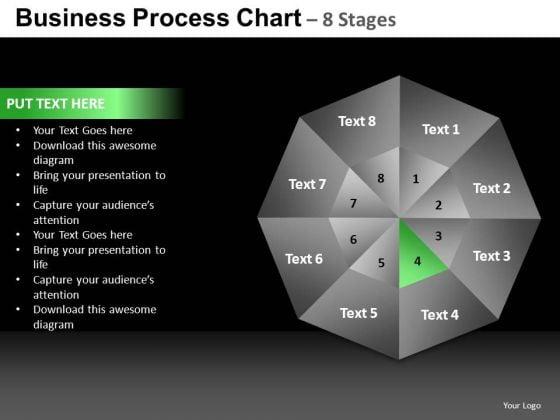 PowerPoint Backgrounds Teamwork Quadrant Diagram Ppt Presentation
