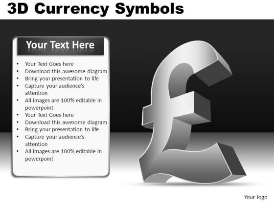 PowerPoint British Pound Symbol