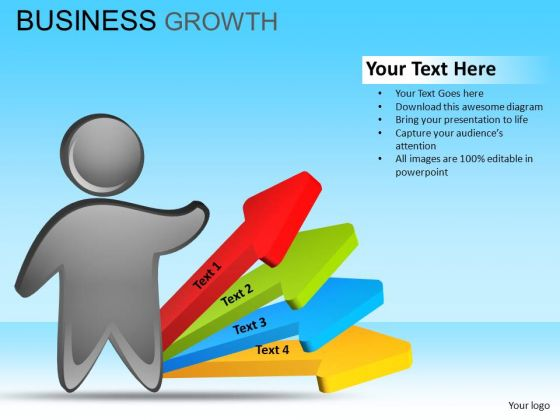 PowerPoint Business Success Business Growth Ppt Slides