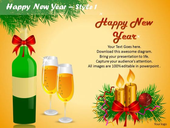 powerpoint celebrations happy new year ppt templates powerpoint templates