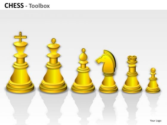 PowerPoint Clipart Graphics And Slides Showing Chess Pieces