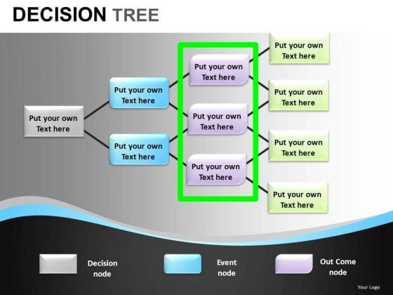 PowerPoint Decision Tree Diagram Slides