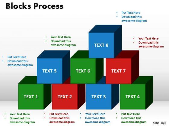 PowerPoint Design Blocks Process Business Ppt Slides