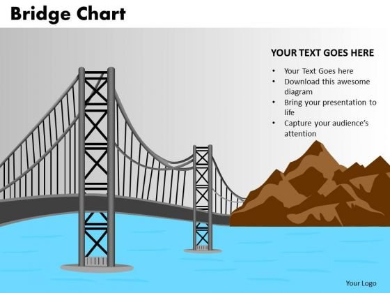PowerPoint Design Business Bridge Chart Ppt Themes