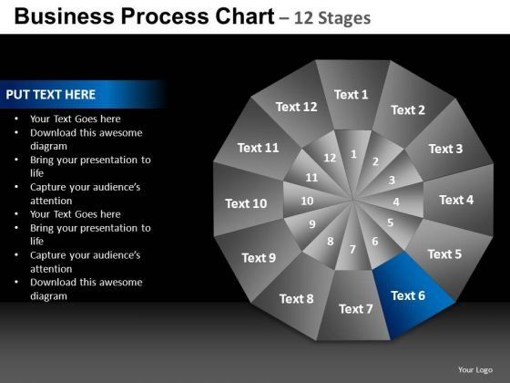 PowerPoint Design Business Chart Ppt Theme