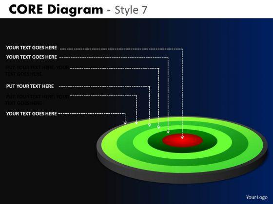 PowerPoint Design Business Success Targets Core Diagram Ppt Theme