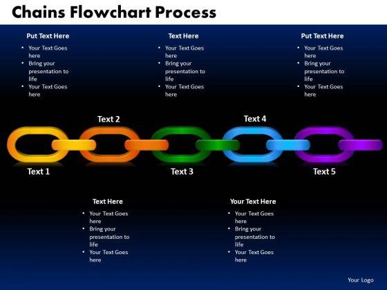 PowerPoint Design Chains Flowchart Process Success Ppt Slide Designs