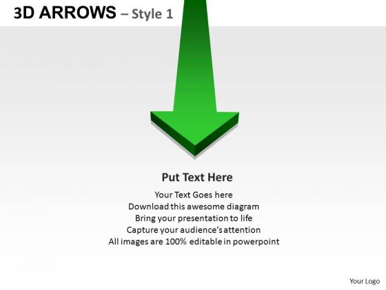PowerPoint Design Chart Arrows Ppt Backgrounds