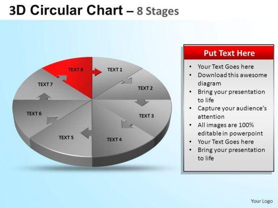 PowerPoint Design Chart Circular Ppt Design