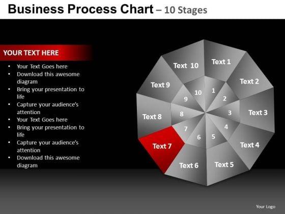 PowerPoint Design Chart Pie Chart Ppt Template