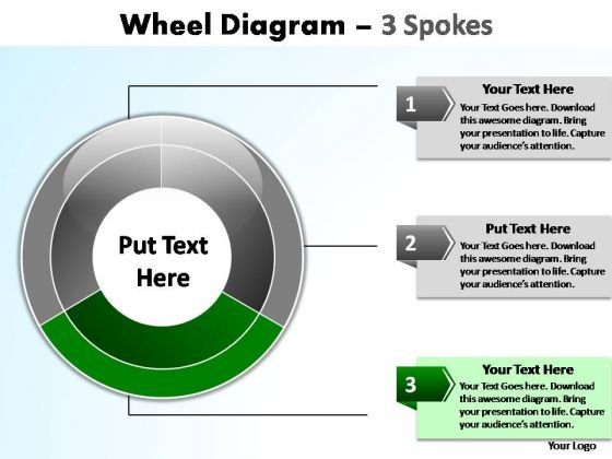 PowerPoint Design Chart Wheel Diagram Ppt Theme