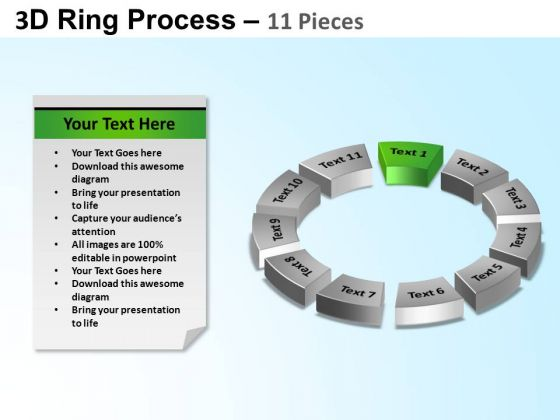 PowerPoint Design Circular Chart Ring Process Ppt Backgrounds