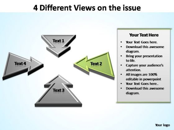 PowerPoint Design Company Different Views Ppt Slide