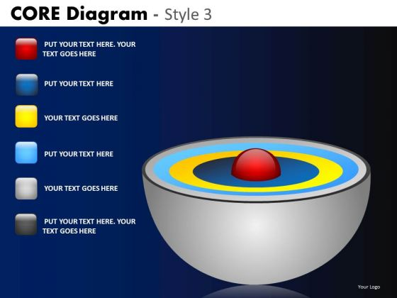 PowerPoint Design Company Success Core Diagram Ppt Layouts