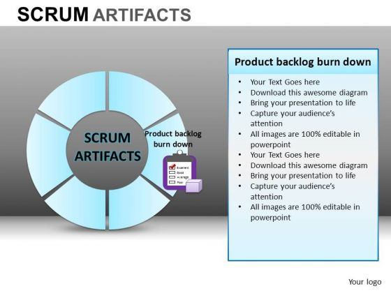 PowerPoint Design Company Success Scrum Process Ppt Template