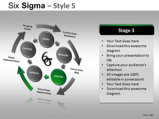 PowerPoint Design Company Success Six Sigma Ppt Design