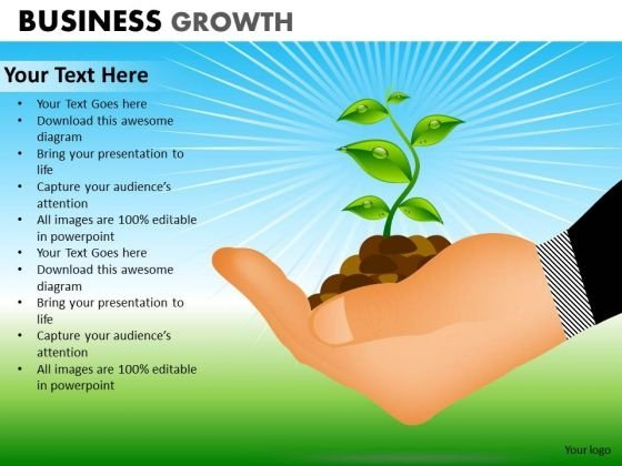 PowerPoint Design Corporate Success Business Growth Ppt Layout