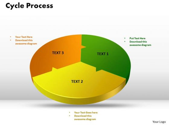 PowerPoint Design Cycle Process Diagram Ppt Slide Designs
