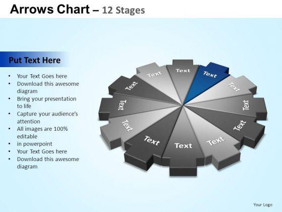 PowerPoint Design Diagram Arrows Chart Ppt Designs