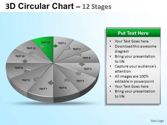 PowerPoint Design Download Circular Ppt Process