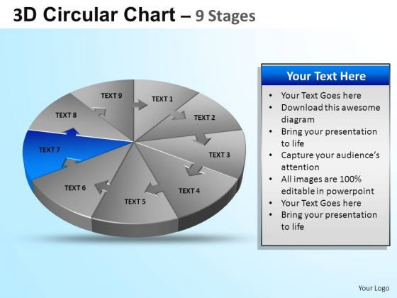 PowerPoint Design Download Circular Ppt Template