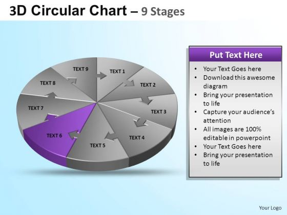 PowerPoint Design Editable Circular Ppt Design