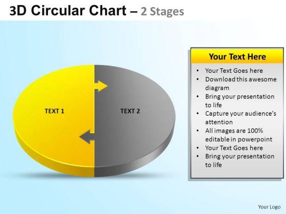 PowerPoint Design Editable Circular Ppt Process