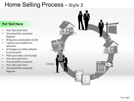 PowerPoint Design Editable Home Selling Ppt Theme