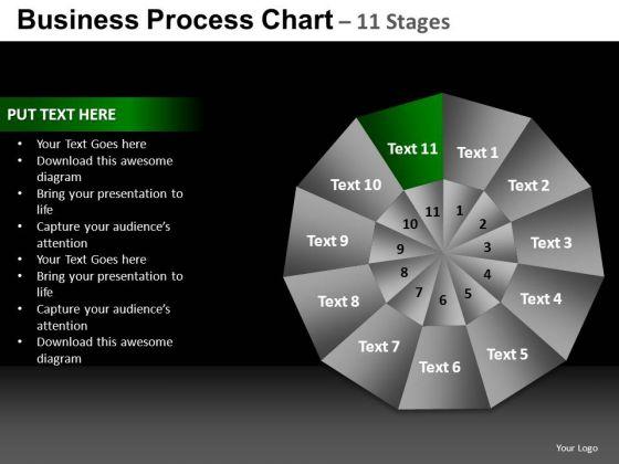 PowerPoint Design Editable Pie Chart Ppt Slide