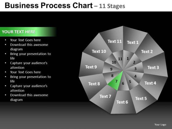 PowerPoint Design Editable Pie Chart Ppt Template