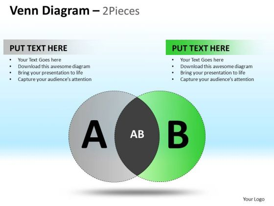 PowerPoint Design Executive Competition Targets Venn Pie Chart Diagram Ppt Theme