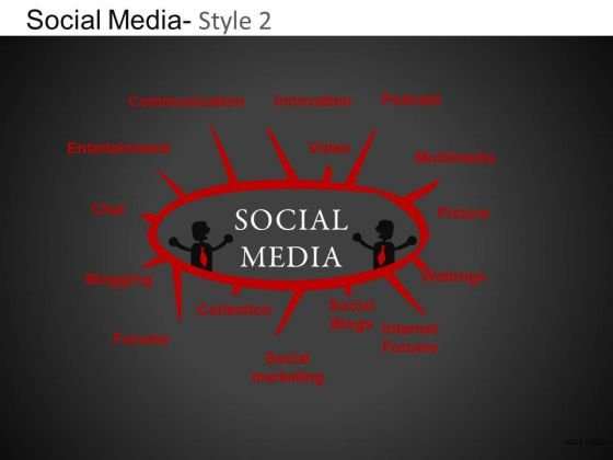 PowerPoint Design Executive Designs Social Media Ppt Slidelayout