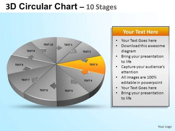 PowerPoint Design Graphic Circular Ppt Design
