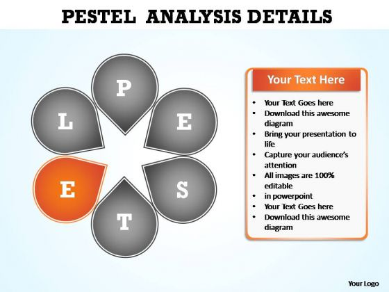 PowerPoint Design Graphic Pestel Analysis Ppt Slide