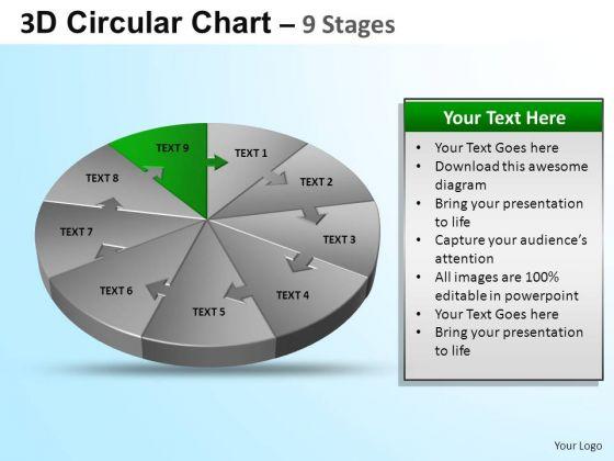 PowerPoint Design Growth Circular Ppt Design