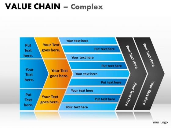 PowerPoint Design Growth Value Chain Ppt Designs
