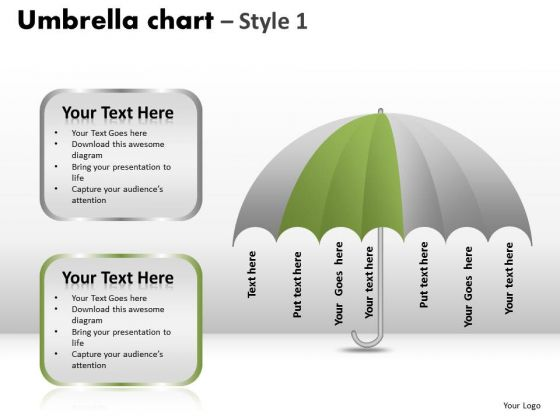 PowerPoint Design Image Umbrella Chart Ppt Slide Designs