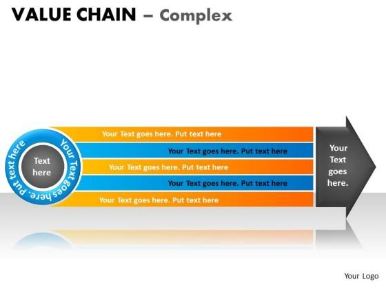 PowerPoint Design Leadership Value Chain Ppt Theme