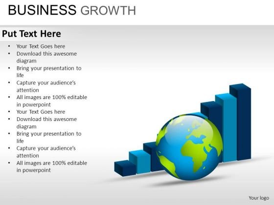 PowerPoint Design Marketing Business Growth Ppt Layout