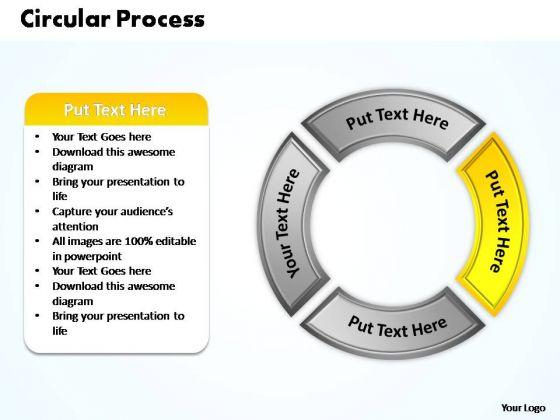 PowerPoint Design Marketing Circular Process Ppt Presentation