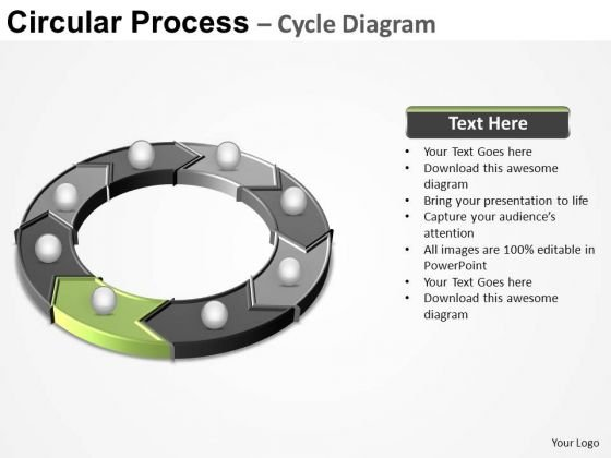 PowerPoint Design Process Circular Process Ppt Design