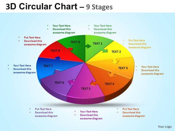 PowerPoint Design Sales Circular Ppt Design