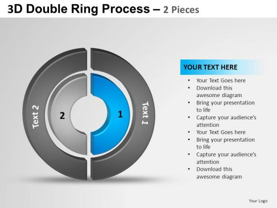 PowerPoint Design Sales Ring Ppt Process