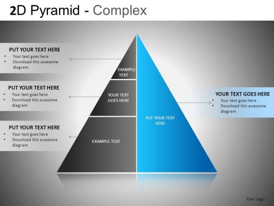 PowerPoint Design Slide With Pyramid Structure Ppt Templates