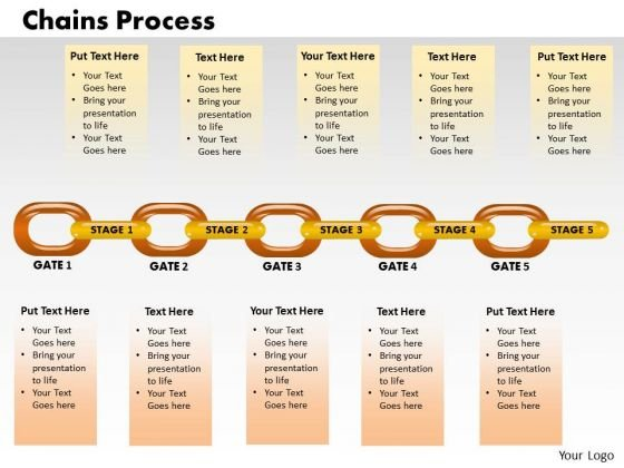 PowerPoint Design Slides Business Chain Process Growth Ppt Slide Designs