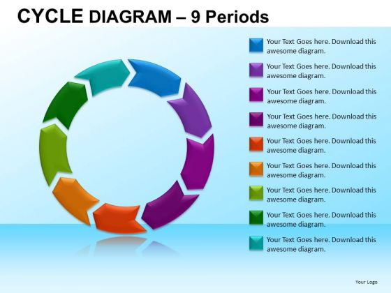 PowerPoint Design Slides Business Growth Cycle Diagram Ppt Layouts