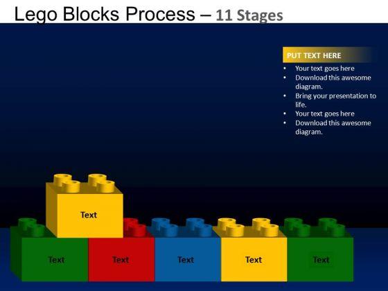PowerPoint Design Slides Business Lego Blocks Ppt Themes