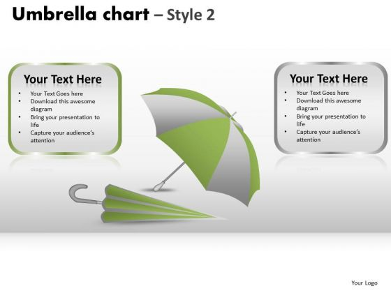 PowerPoint Design Slides Business Umbrella Chart Ppt Slides