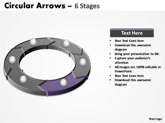 PowerPoint Design Slides Chart Circular Arrows Ppt Slide Designs